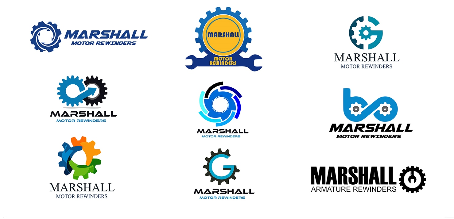 VO Design Banding - Marshalls logo concepts